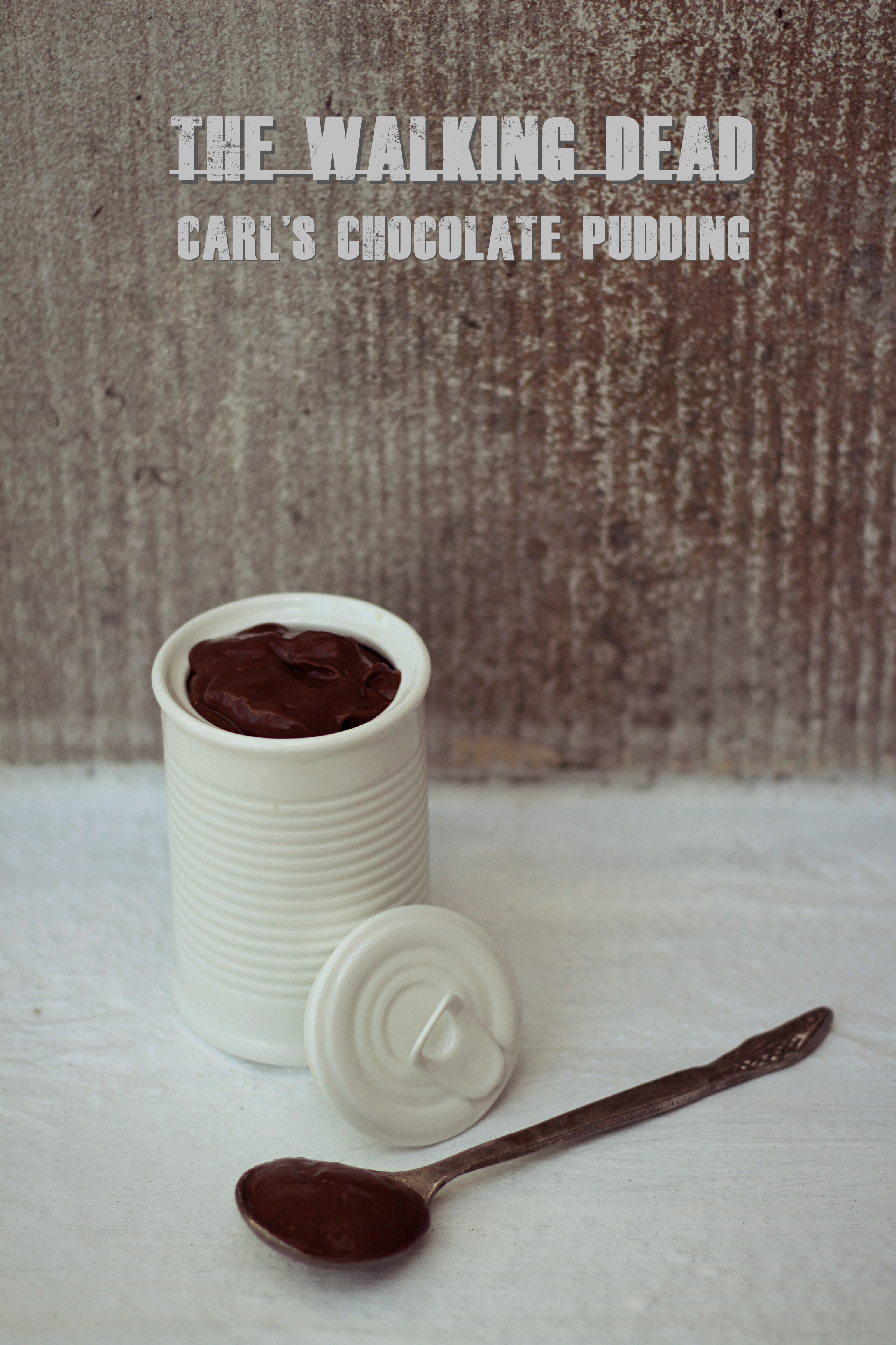 Chocolate Pudding Huge Cup