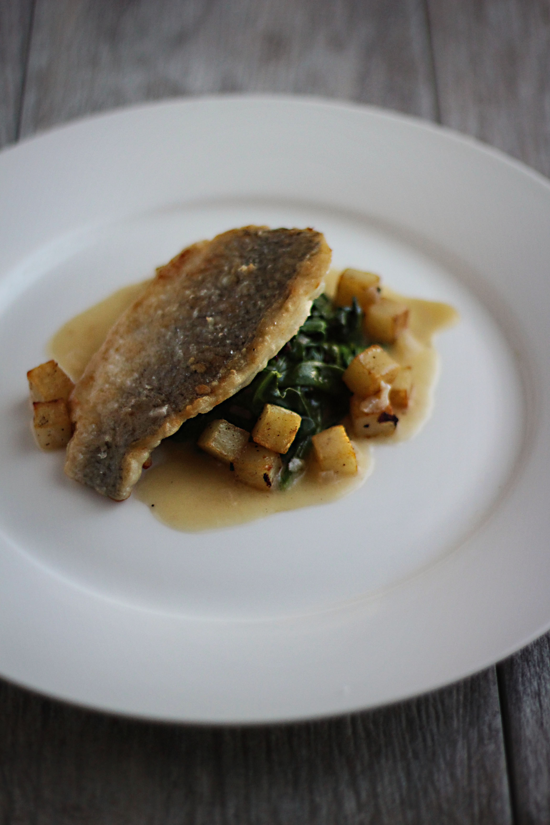 romantics anonymous sea bream with crispy potatoes and beurre blanc feast of starlight - Bur Blanc Recipe